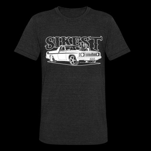 SIKEST - HJ UTE BLOWN BIG BLOCK DESIGN - Unisex Tri-Blend T-Shirt