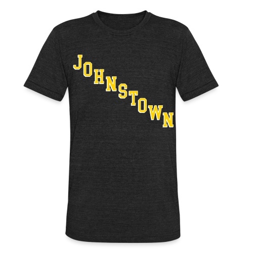 Johnstown Diagonal - Unisex Tri-Blend T-Shirt