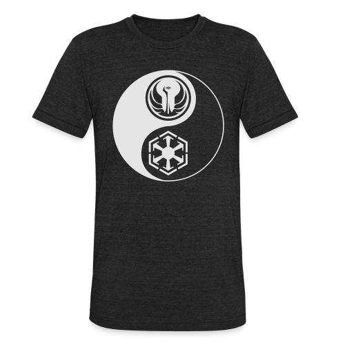 Star Wars SWTOR Yin Yang 1-Color Light - Unisex Tri-Blend T-Shirt