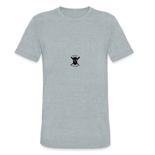 No face no case - Unisex Tri-Blend T-Shirt