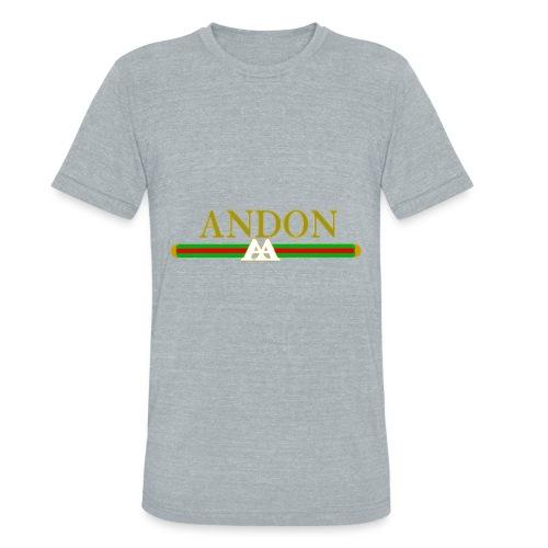 Andon Gucci (T-Shirt) - Unisex Tri-Blend T-Shirt