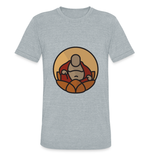 AMERICAN BUDDHA CO. COLOR - Unisex Tri-Blend T-Shirt