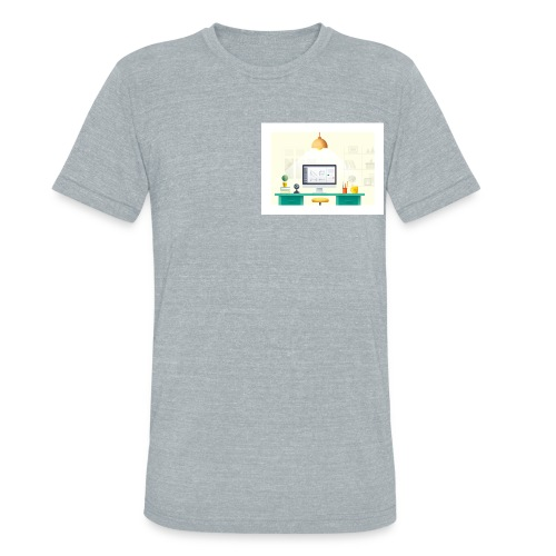 workspace - Unisex Tri-Blend T-Shirt