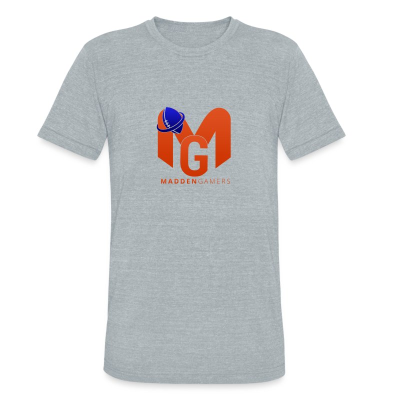 MaddenGamers MG Logo - Unisex Tri-Blend T-Shirt by American Apparel