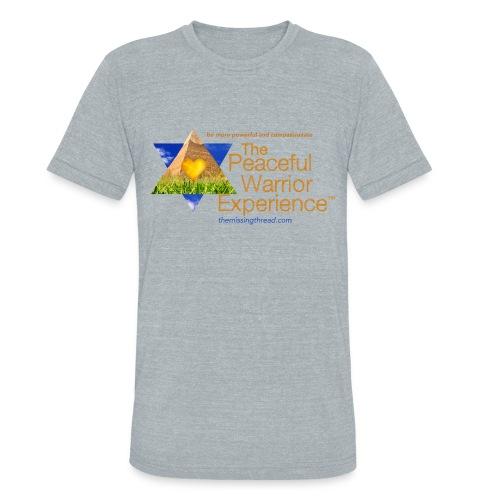 The Peaceful Warrior Experience t-shirt 1 - Unisex Tri-Blend T-Shirt
