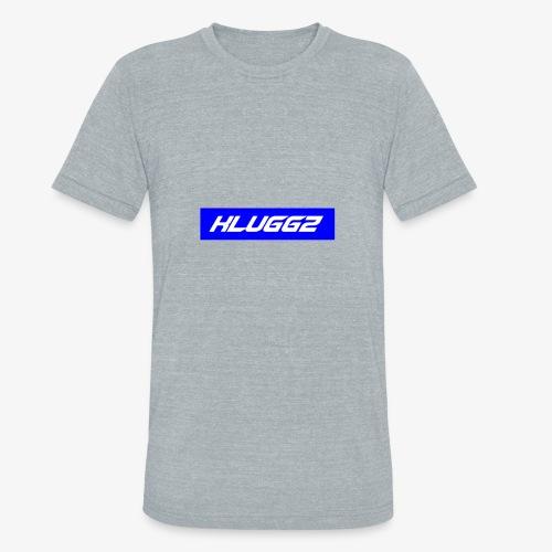 BLUE KLUGGZ BOX LOGO - Unisex Tri-Blend T-Shirt