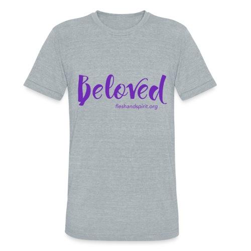 beloved t-shirt - Unisex Tri-Blend T-Shirt
