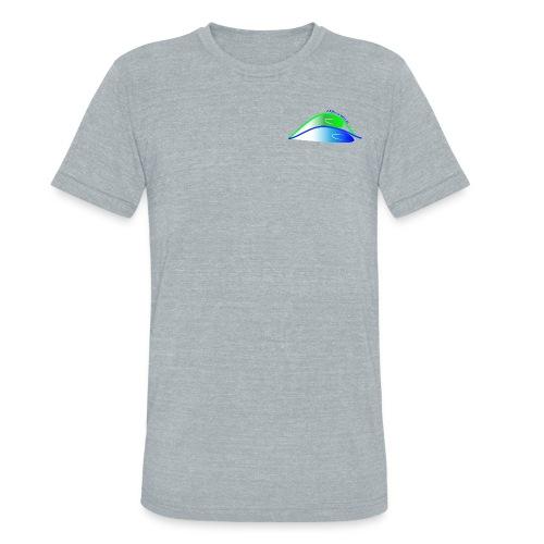 Parks Bros Logo w/ Words - Unisex Tri-Blend T-Shirt