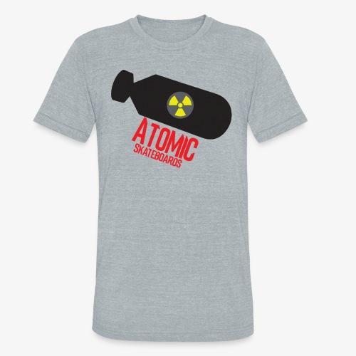 Atomic Skateboard OG Bomb - Unisex Tri-Blend T-Shirt