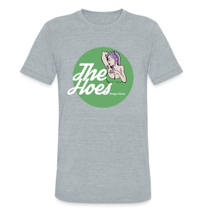 The Hoes Teenage Dreams Green - Unisex Tri-Blend T-Shirt