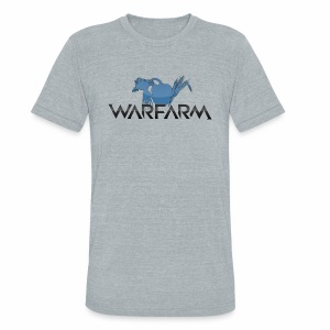 Warfarm Logo - Unisex Tri-Blend T-Shirt by American Apparel