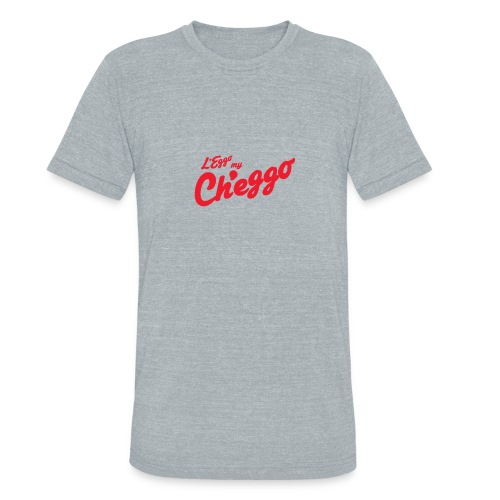 L'Eggo my Ch'eggo TShirt *LIMITED TIME ONLY* - Unisex Tri-Blend T-Shirt