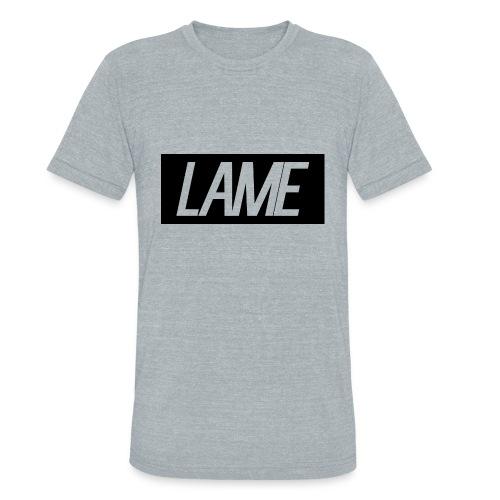 lame/black rectangle - Unisex Tri-Blend T-Shirt