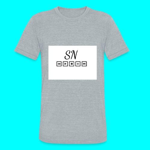 The Samantha Navio play button T-shirt - Unisex Tri-Blend T-Shirt