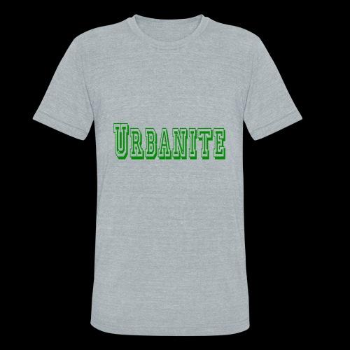 Urbanite football design - Unisex Tri-Blend T-Shirt