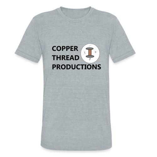 Copper Thread Logo - Unisex Tri-Blend T-Shirt