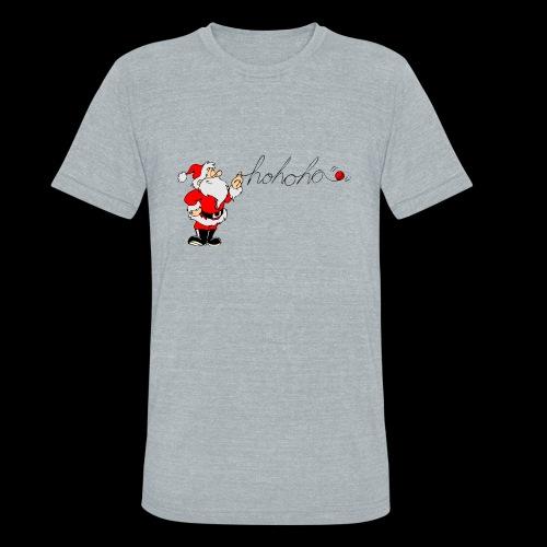 Santa Ho Ho Ho - Unisex Tri-Blend T-Shirt