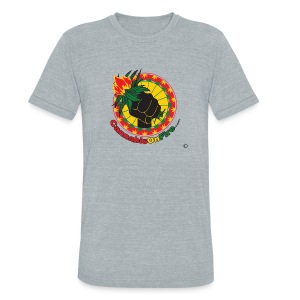 Cannabis On Fire 420 Power - Unisex Tri-Blend T-Shirt by American Apparel