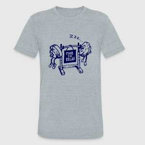 Relax - time to relax - Unisex Tri-Blend T-Shirt by American Apparel