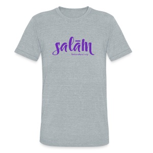 salam t-shirt - Unisex Tri-Blend T-Shirt by American Apparel
