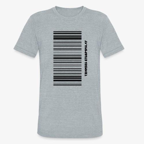 Time Supply - Barcode T-Shirt - Unisex Tri-Blend T-Shirt