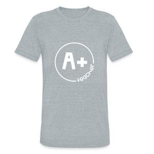 A Plus Teacher - Unisex Tri-Blend T-Shirt