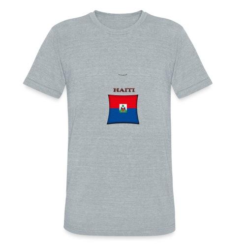 haiti flag t-shirt - Unisex Tri-Blend T-Shirt