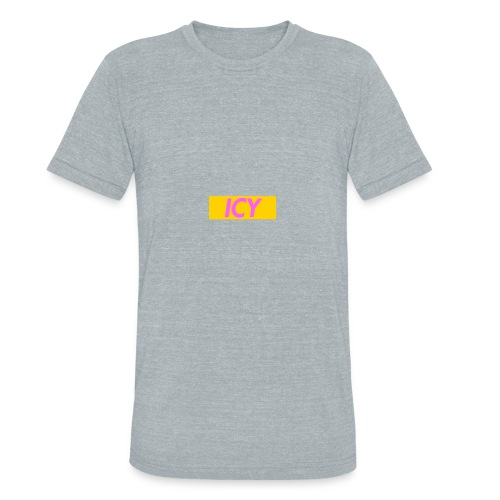 ICY - Box Logo Neon Collection 1 - Unisex Tri-Blend T-Shirt