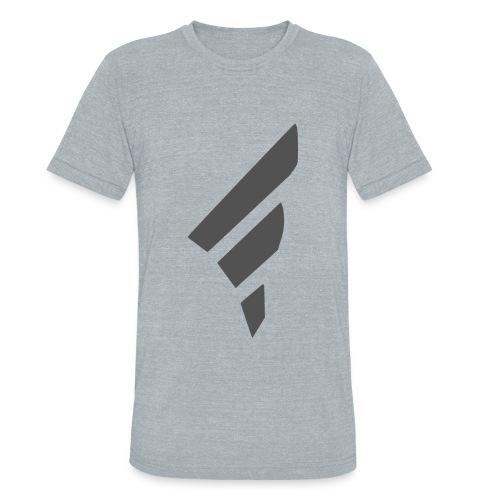 FarggedOutt Black Logo T-Shirt - Unisex Tri-Blend T-Shirt