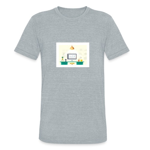 workspace - Unisex Tri-Blend T-Shirt