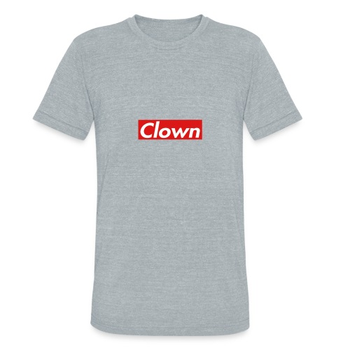 halifax clown sup - Unisex Tri-Blend T-Shirt