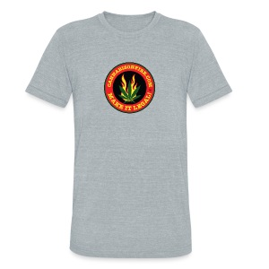 Make Cannabis Legal Cannabis Tshirts 420 wear - Unisex Tri-Blend T-Shirt by American Apparel