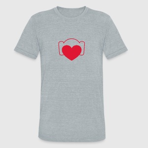 Love Leia - Unisex Tri-Blend T-Shirt by American Apparel