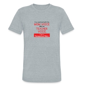 Voice Master - Unisex Tri-Blend T-Shirt by American Apparel