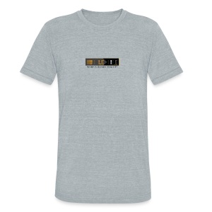 Hustle_Life - Unisex Tri-Blend T-Shirt by American Apparel