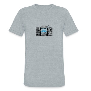 Music_Business - Unisex Tri-Blend T-Shirt by American Apparel