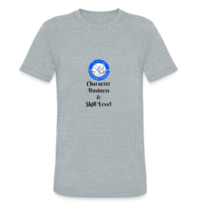SB Seal Design - Unisex Tri-Blend T-Shirt by American Apparel