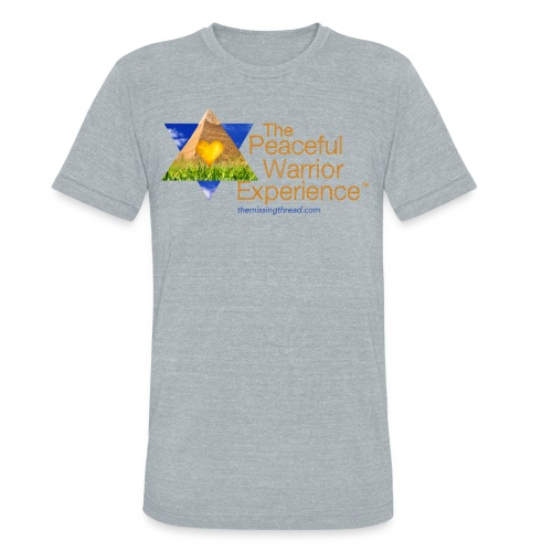 The Peaceful WarriorExperience t-shirt 2 - Unisex Tri-Blend T-Shirt