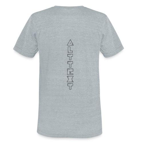 A T - BUBBLEGUM   Alternative Text co. - Unisex Tri-Blend T-Shirt