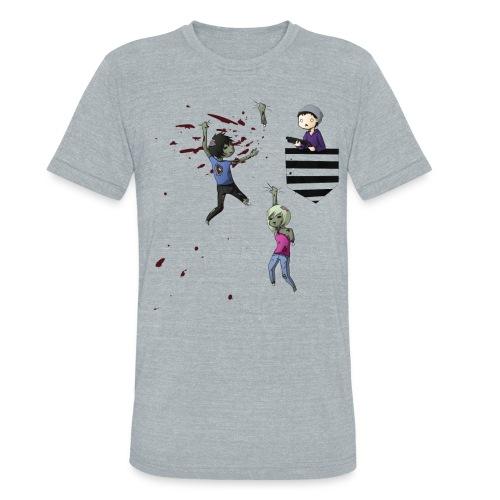 MRH Zombie Hunter - Unisex Tri-Blend T-Shirt