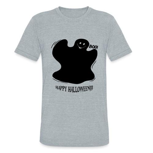 Boo! Ghost - Unisex Tri-Blend T-Shirt