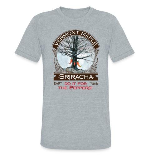 Vermont Maple Sriracha - Unisex Tri-Blend T-Shirt