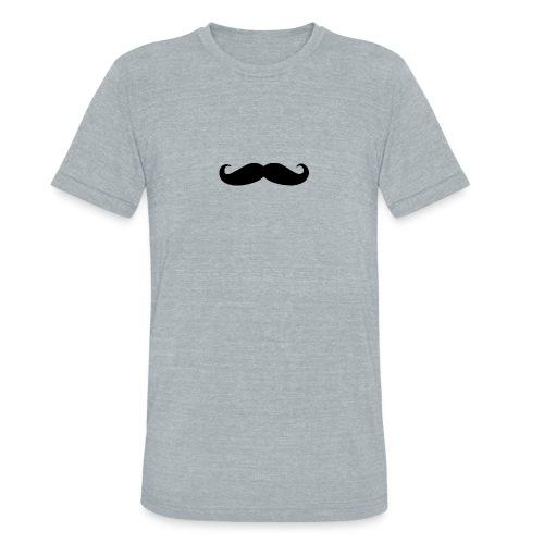 mustache - Unisex Tri-Blend T-Shirt