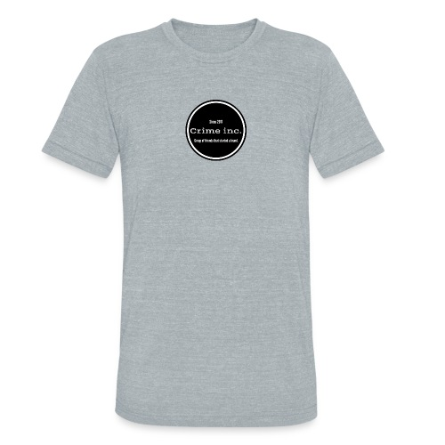 Crime Inc Small Design - Unisex Tri-Blend T-Shirt