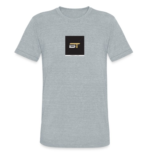 BT logo golden - Unisex Tri-Blend T-Shirt