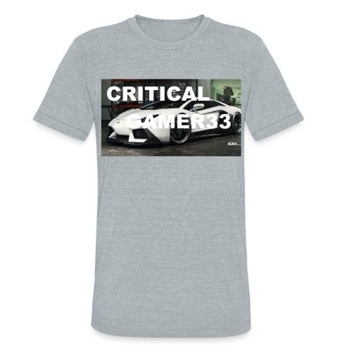 CRITIMERCH EXCLUSIVE - Unisex Tri-Blend T-Shirt