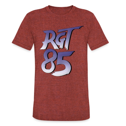 RGT 85 Logo - Unisex Tri-Blend T-Shirt