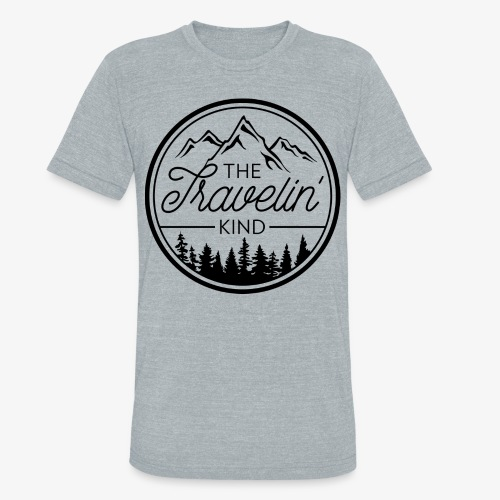 The Travelin Kind - Unisex Tri-Blend T-Shirt