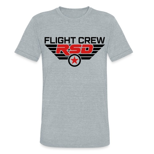 RSD Flight Crew - Unisex Tri-Blend T-Shirt