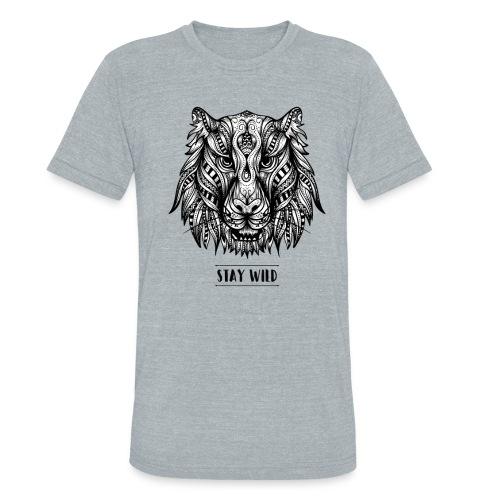 Stay Wild - Unisex Tri-Blend T-Shirt